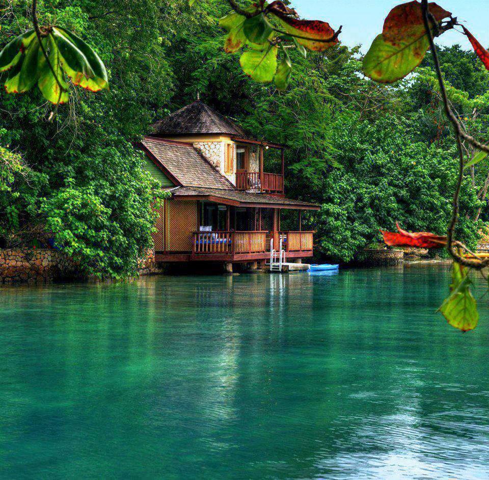 The Golden Eye Resort in Jamaica