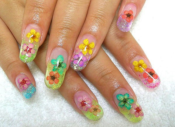 Best-Quality-Flower-design-Nail-Art-2521