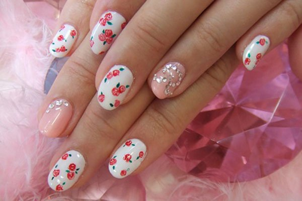 Floral Nails Designs | World inside pictures