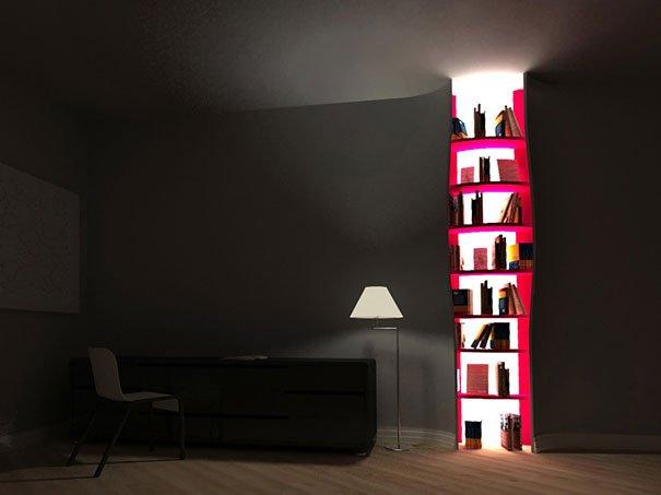 Creative Bookshelf Ideas 23 more creative bookshelf designs   world inside pictures