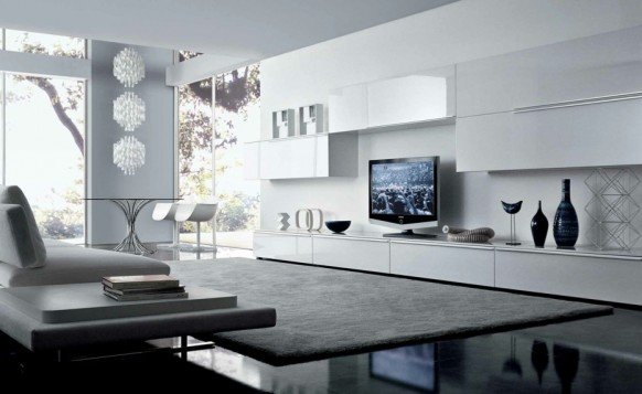 White Minimalist Living Room Inspirations Cool Ideas For Interior Design  World Inside Pictures