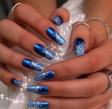 32 simple and cute nail art designs world inside pictures 1 prinsesfo Choice Image