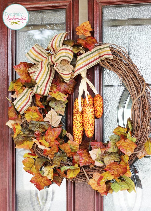Diy fall outdoor decoration world inside pictures for Autumn window decoration