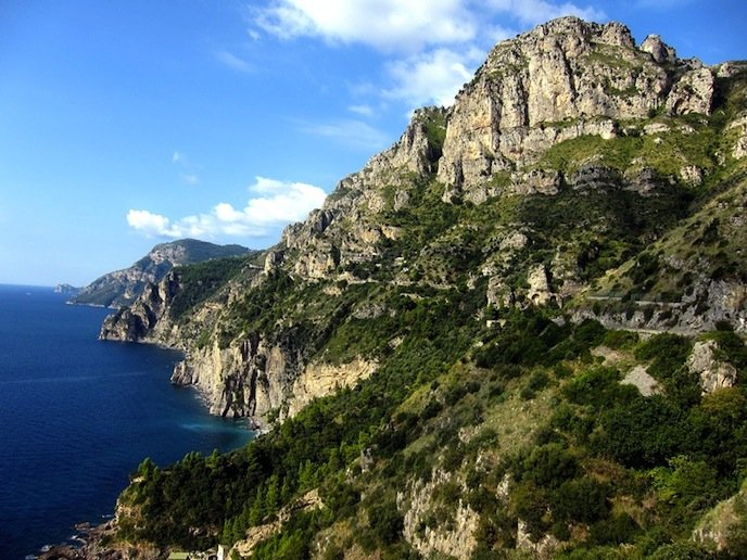 Amalfi Coast, Road to Sorrento