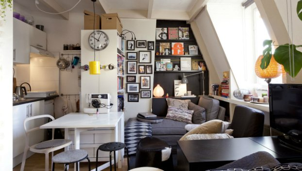 Big Design Ideas for Small Studio Apartments | World inside pictures
