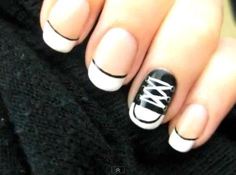 Home office design black and white nail art desi office decoration source prinsesfo Images