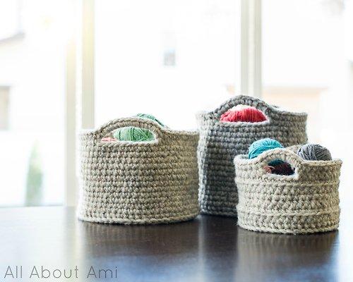 Bon Big Crochet Baskets (via Allaboutami) 2