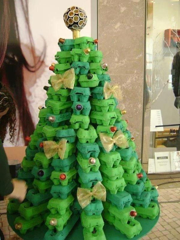 22 Unusual Clever DIY Christmas Tree Ideas