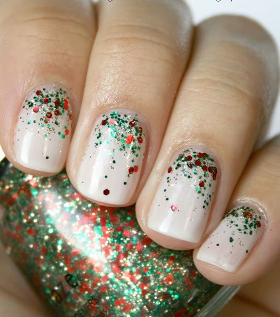 Easy Christmas Nail Art: 17 Christmas Nail Art Design