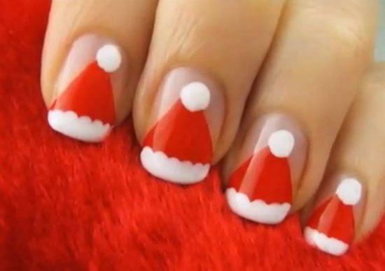 15-Simple-Easy-Christmas-Nail-Art-Designs-Ideas- - 22 Christmas Nail Art Designs World Inside Pictures