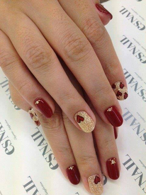 38 amazing nail art design for your christmas new years eve 18 prinsesfo Images