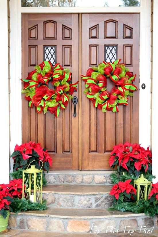 28 Christmas Decorating Ideas For Your Front Porch World