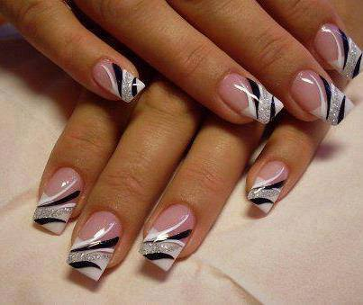 source 51 - 38 Amazing Nail Art Design For Your Christmas / New Year's Eve