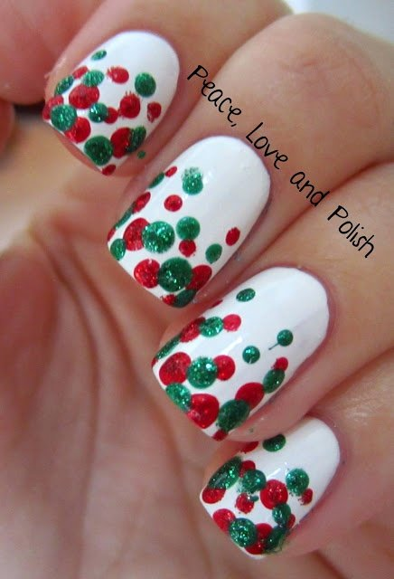 30 fancy nail art christmas designs ledufa stunning nail art christmas designs 22 almost inspiration article solutioingenieria Image collections