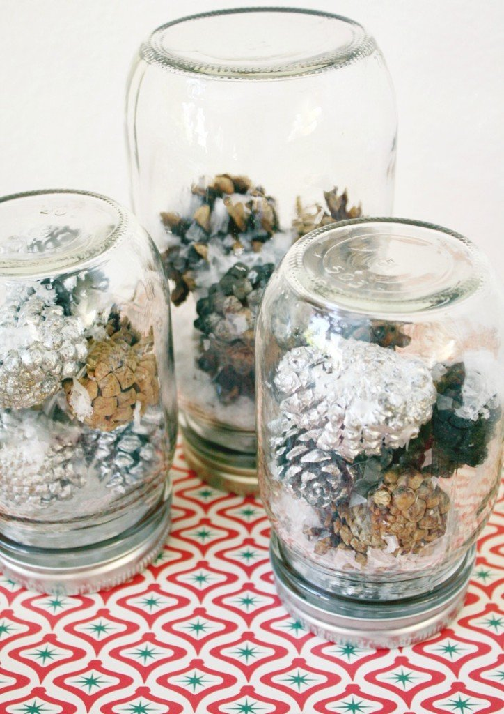 10 Mason Jar Diy Projects For Christmas Holiday World