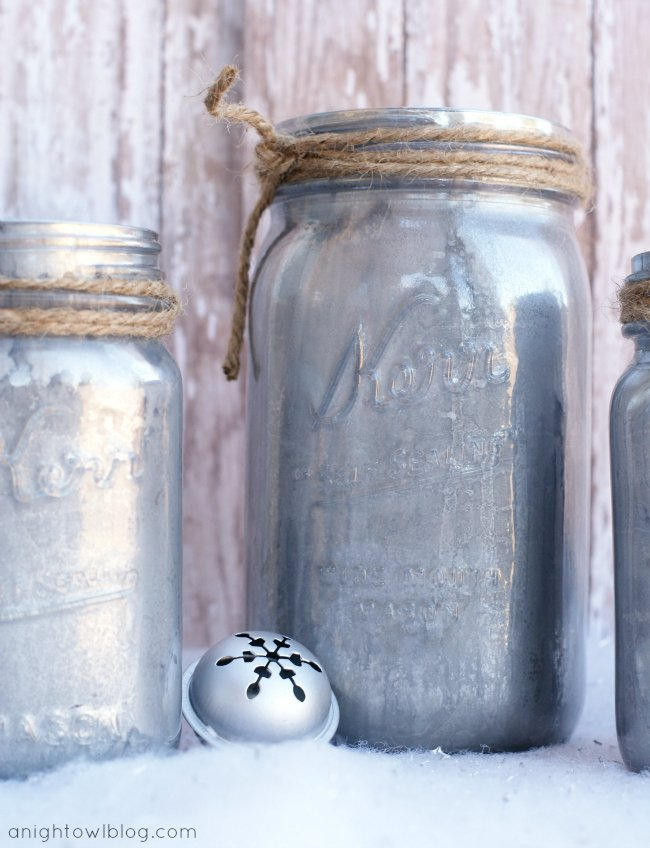 Home office design 10 mason jar diy projects for for Projects to do with mason jars