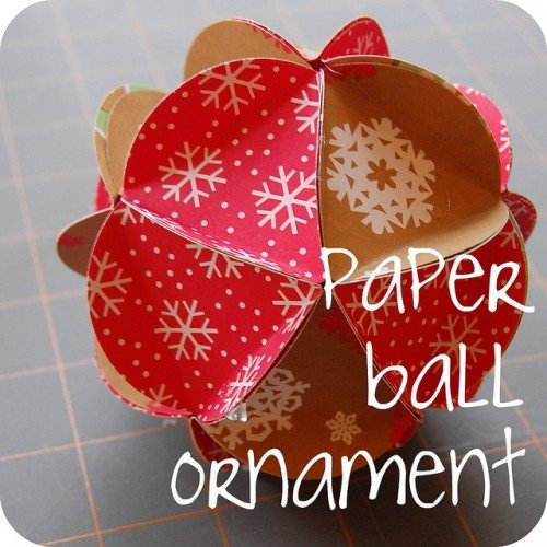 Diy Christmas Ornaments Using Paper : Paper and cardboard diy christmas decorations world
