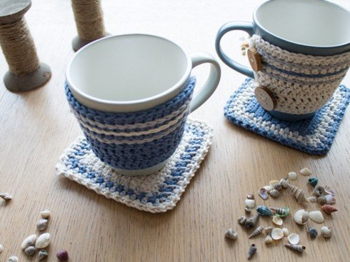Charming ... Awesome Crocheted Diys For Cozy Home Decor17