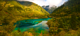 MOST BEAUTIFUL LAKE IN THE WORLD JIUZHAIGOU
