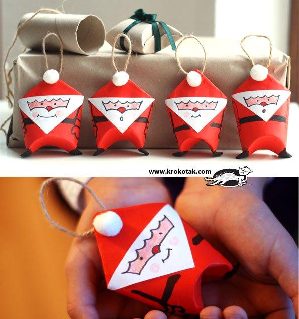 20 Toilet Paper Roll Christmas Crafts