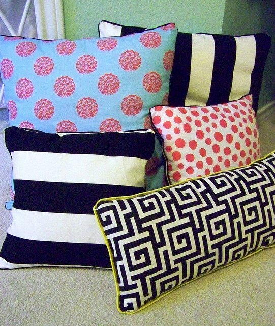 Throw Pillow Patterns To Sew : ALL NEW SEWING PILLOW IDEAS DIY Pillow