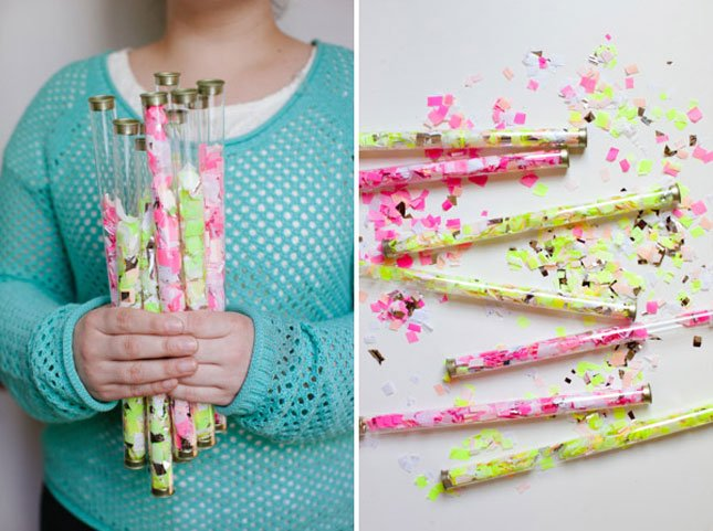 17 Cool Diy Projects Festive Confetti World Inside Pictures