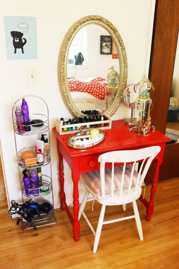gallery for diy vanity table ideas
