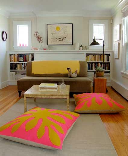 easy diy floor pillows. 8 Hawaiian Style Felt Floor Pillows 20 EASY AND DECORATIVE FLOOR CUSHIONS THAT YOU CAN DIY  World