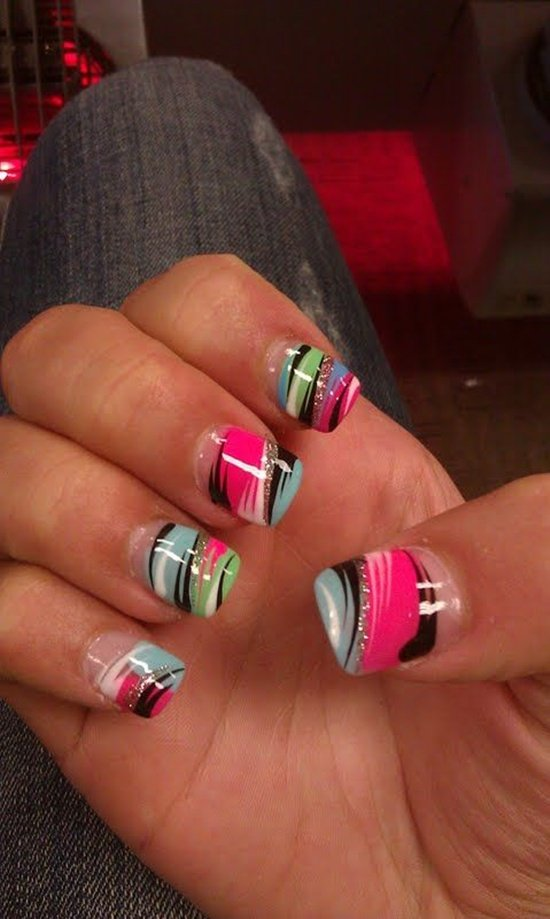32 fantastic and stylish nail art designs world inside pictures 14 prinsesfo Image collections