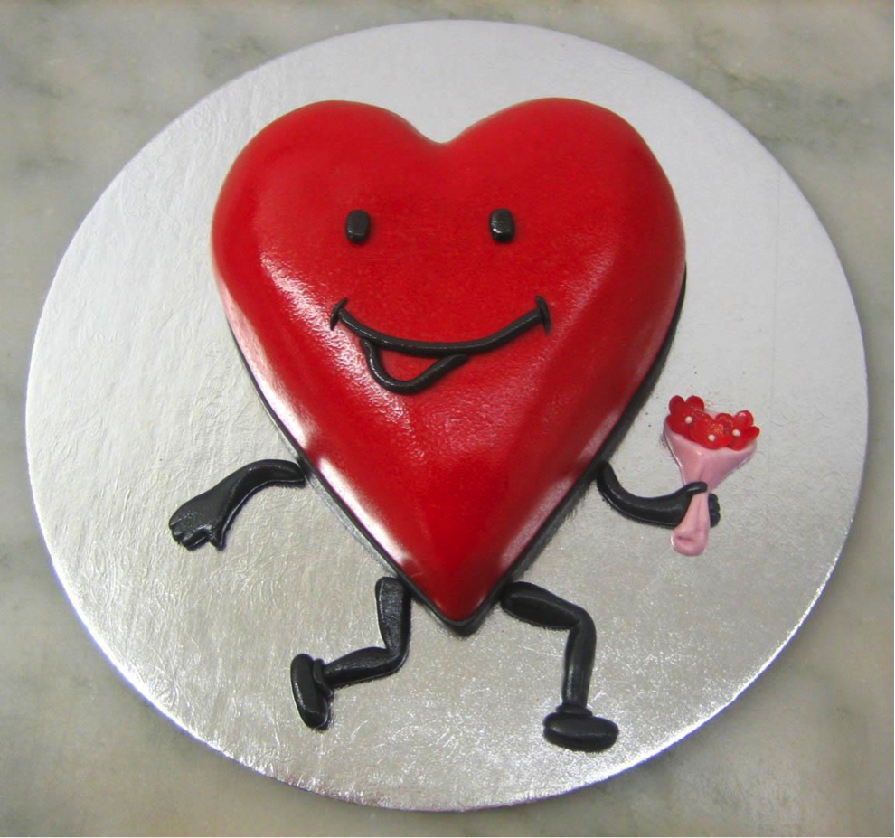 14 Sweet Heart Shaped Cake Disign Ideas World inside ...