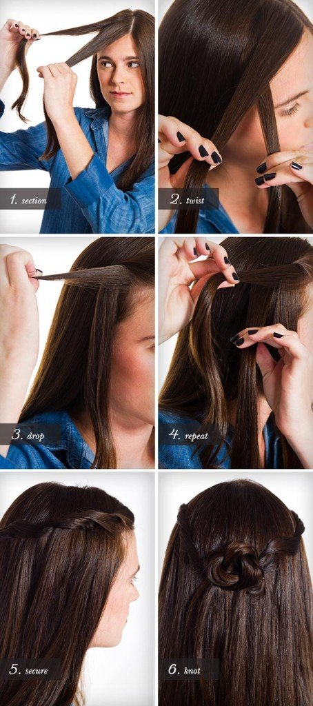 how to make fake dreadlocks : 14 Simple Hairstyles To DIY At Home And Look Brilliant World inside ...