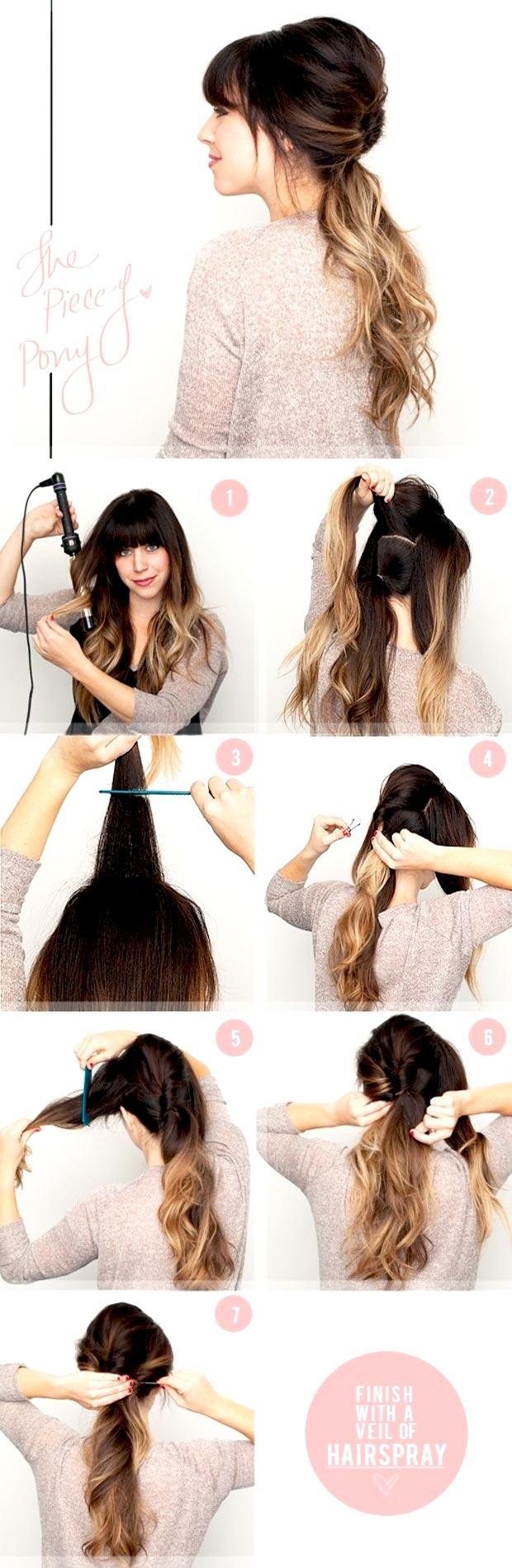 Стрижка своими руками длинные волосы