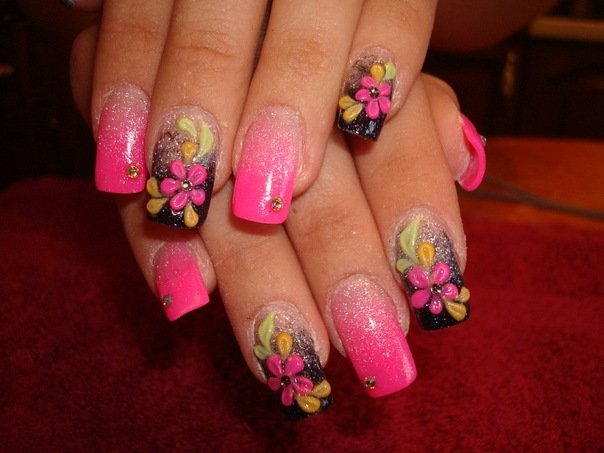20 trendy and stylish spring nail art designs 2014 world inside 1 prinsesfo Gallery