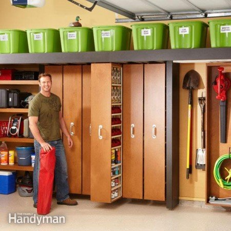 ... And Simple DIY Storage Ideas For Your Garage | World inside pictures