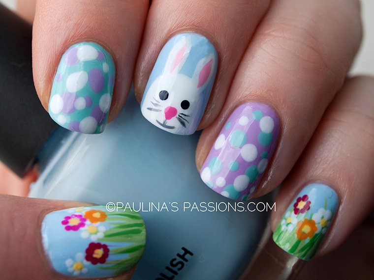 25 adorable easter nail art ideas world inside pictures olympus digital camera prinsesfo Gallery