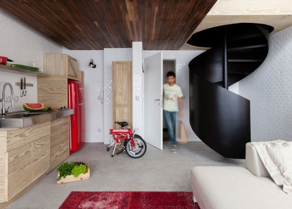 10 Clever Design Ideas For Small Studio Apartments | World inside ...