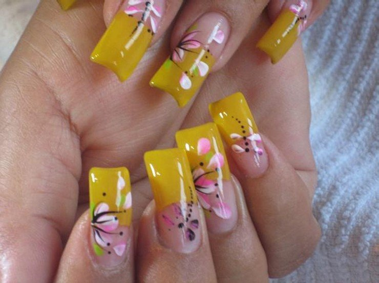 20 trendy and stylish spring nail art designs 2014 world inside 5 prinsesfo Choice Image