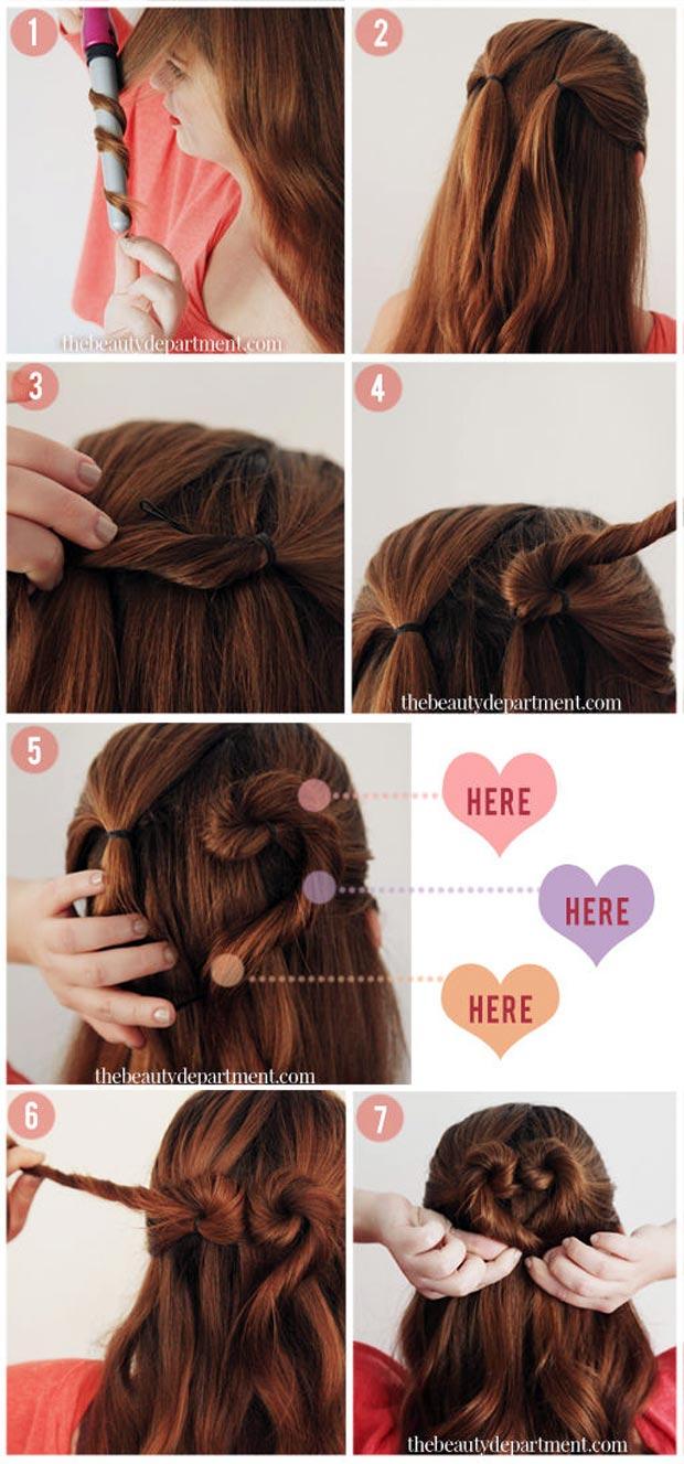 красивые легкие прически с распущенными волосами