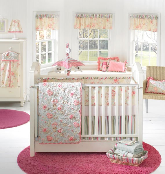 Baby Girl Furniture : baby-girls-nursery-furniture-ideas