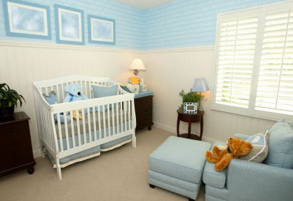 Interior Of A Nursery