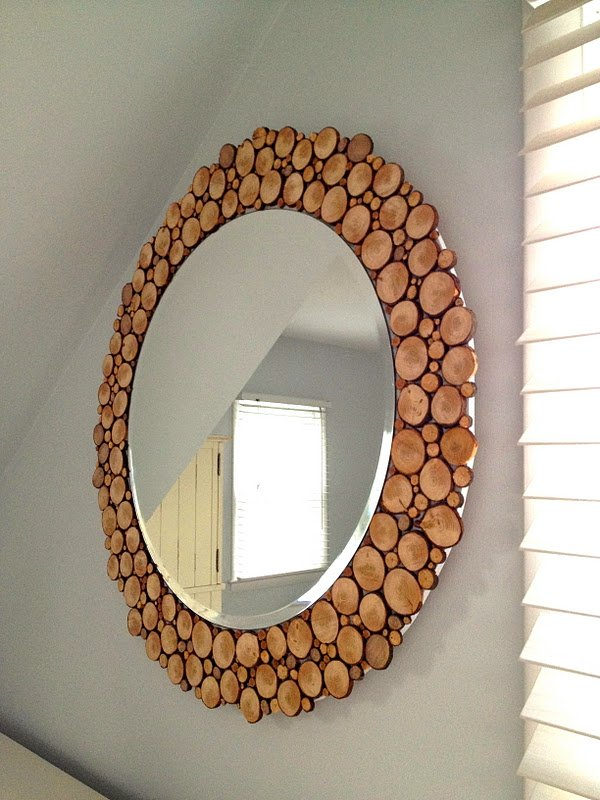 Как задекорировать старое зеркало