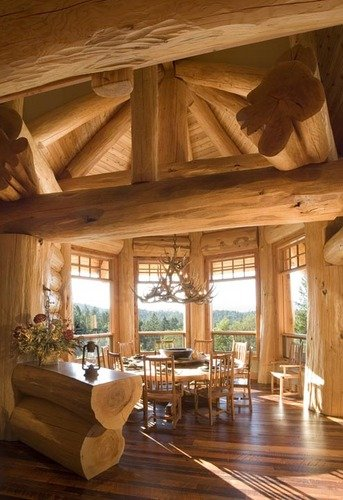 15 Examples of Wonderful Rustic Home Interior Designs   World ...