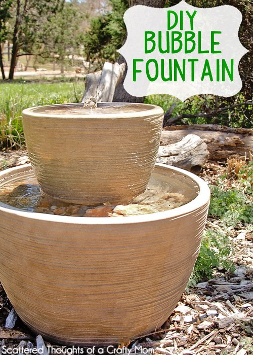 16 diy water feature projects for your home and garden for Making a water garden