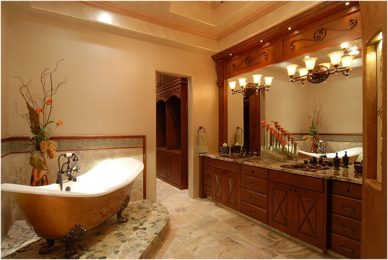 Rustic Wooden Bathroom Ideas