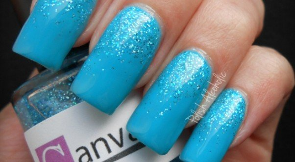 18 Creative Blue Nail Art Designs