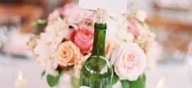 DIY Wine Bottle Centerpieces  For Your Wedding