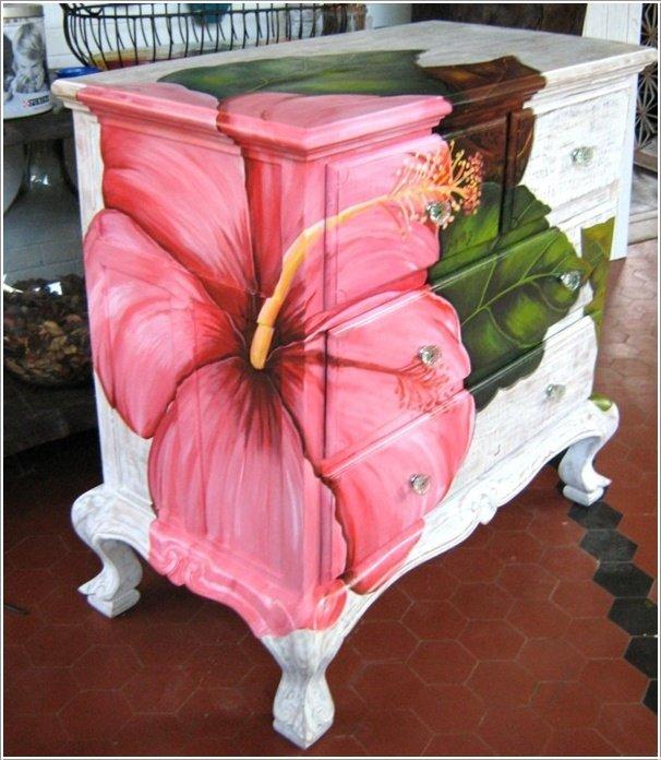 Своими руками декорировать мебель