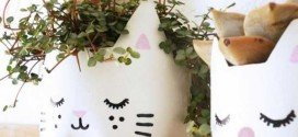 Cute DIY Outdoor Recycling Ideas