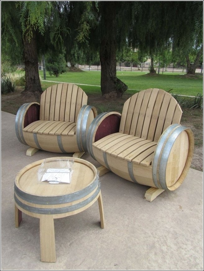 Very cool outdoor garden furniture ideas world inside for Cool outdoor furniture ideas