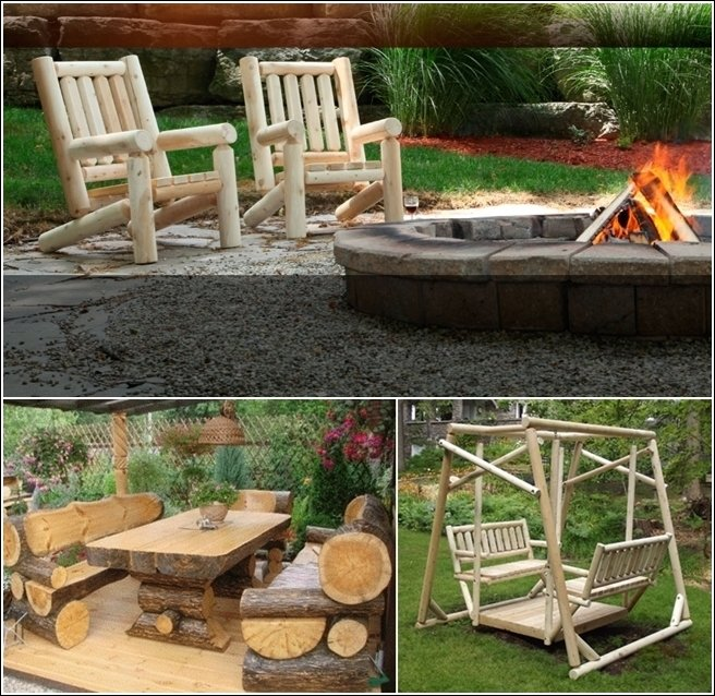 Home office design very cool outdoor garden furniture ide for Cool outdoor furniture ideas